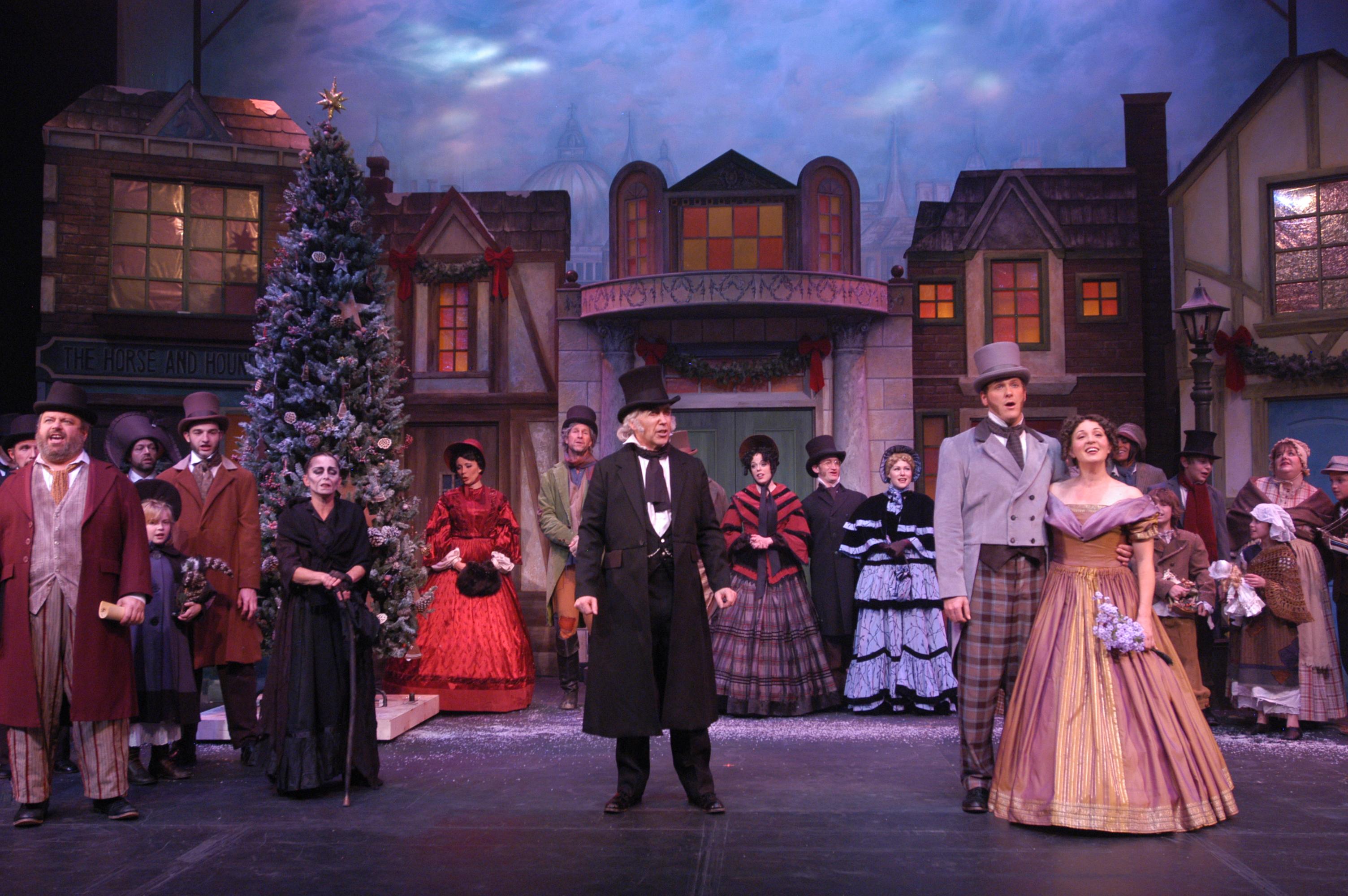 ... up A Christmas Carol with Musical | He Said/She Said Critiques