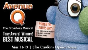 Avenue Q, National Tour, Denver Center, Theatre, Theater, Reviews