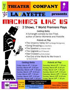 Theater Company of LaFayette Denver theatre He Said/She Said Critiques