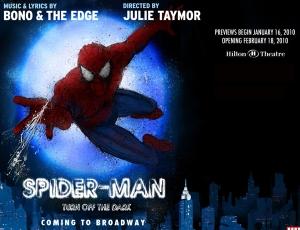 Spider-Man Turn Off the Dark, Broadway, Poster, Denver, Theatre