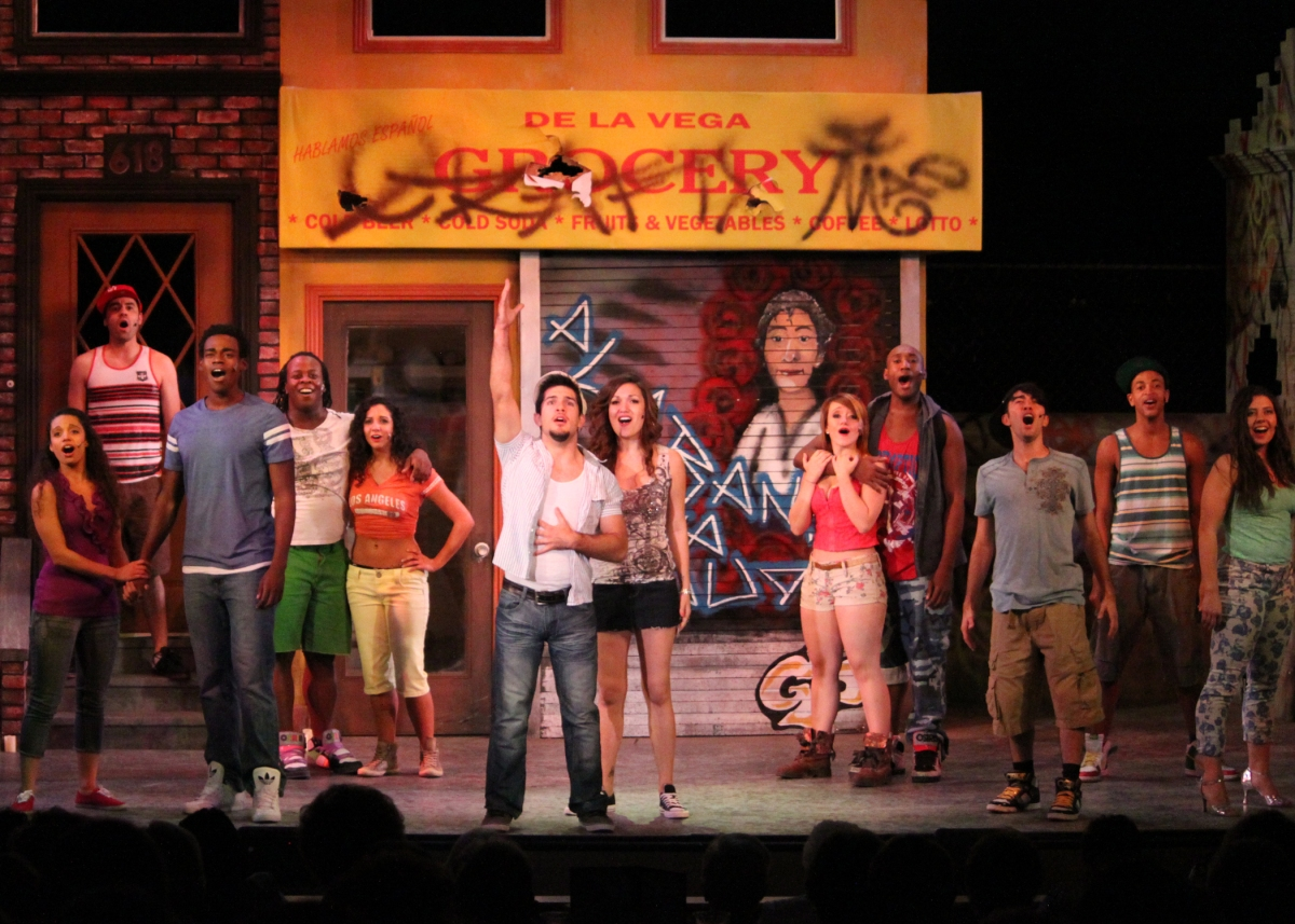 in the heights review Maybe it shouldn't be so unique, this musical in the heights there should be  probably lots of other artistically and commercially successful.